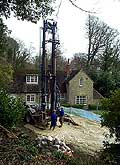 de-watering well drilling